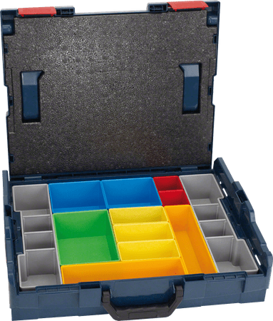 BOSCH Professional L-Boxx 102 set 12 pcs (1.600.A00.1S3)