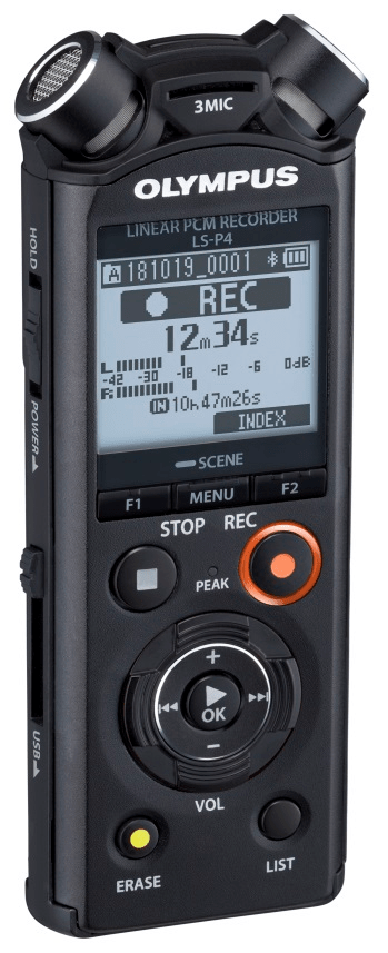 Olympus LS-P4 + Bluetooth reproduktor a kabel ZDARMA!