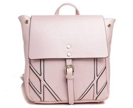 Bessie London dámský růžový batoh