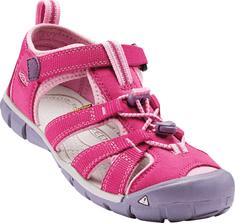 KEEN Dziecięce sandały Seacamp II, różowy