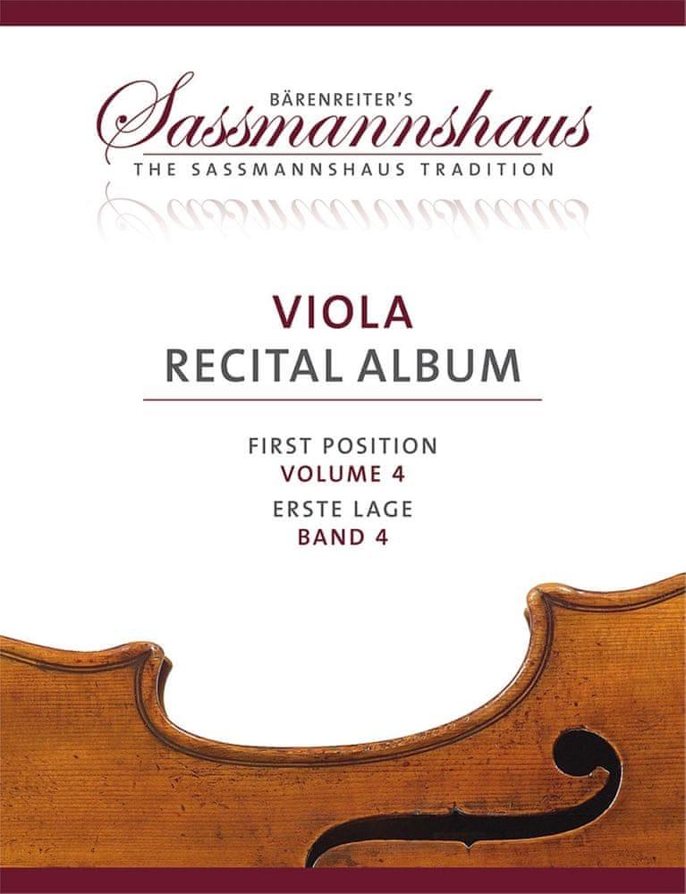 KN Viola Recital Album, svazek 4 Noty pro violu