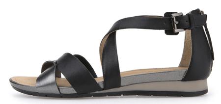 Geox ženski sandali Formosa, črni, 41