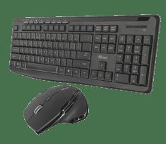 Trust Evo Silent Bezdrátová klávesnice a myš (22213)