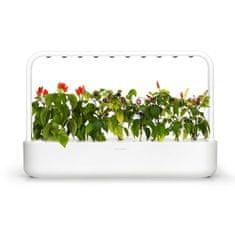 Click and Grow chytrý květináč pro pěstování bylinek, zeleniny, květin a stromů - Smart Garden 9, bílá
