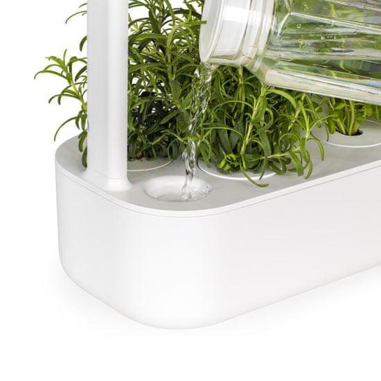Click and Grow šikovný kvetináč na pestovanie byliniek, zeleniny, kvetov a stromov - Smart Garden 9, šedá