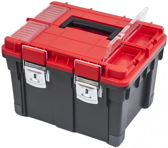 PATROL Kufr na nářadí HD Compact Logic červený