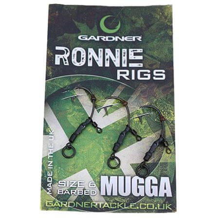 Gardner Montáž Ronnie Rig bez Protihrotu 3 ks 6