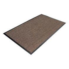 Hnědá textilní čistící vnitřní vstupní rohož - 0,7 cm