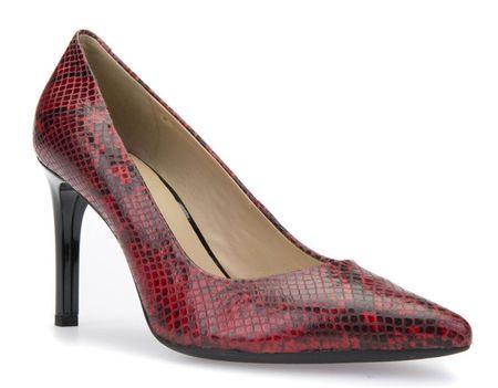 Geox Faviola női magassarkú cipő 37 piros  31a0568b9c