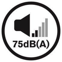 Dirt Devil Rebel 26 Reach csendes működés 75 dB minimális zajszinttel