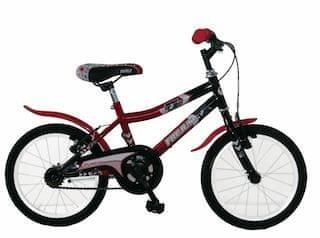 Frejus deško kolo, 16'', rdeče-črno