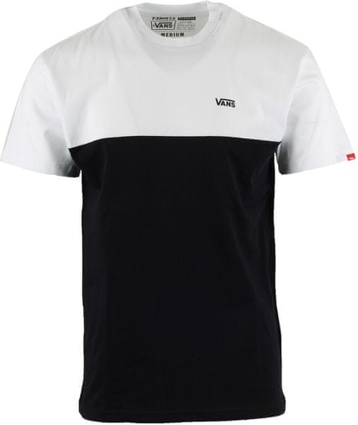 Vans MN Colorblock Tee White-Black S