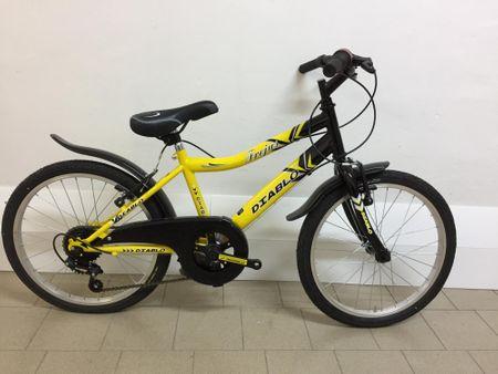 Frejus deško kolo s šestimi prestavami, 20'', rumeno-črno