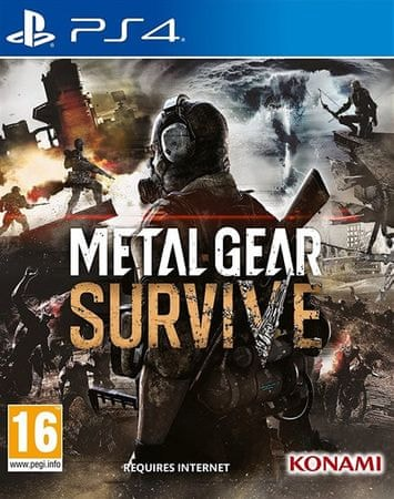 Konami igra Metal Gear: Survive (PS4)