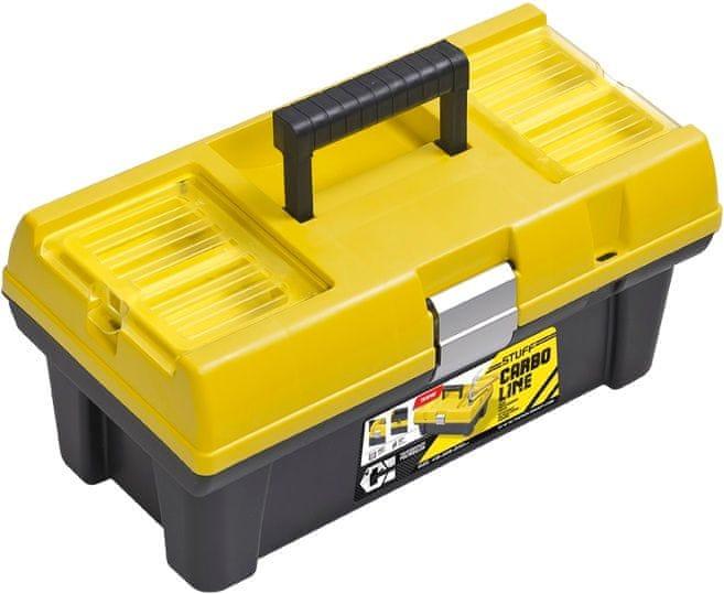 PATROL Kufr na nářadí Stuff 16 Semi Profi Carbo žlutý