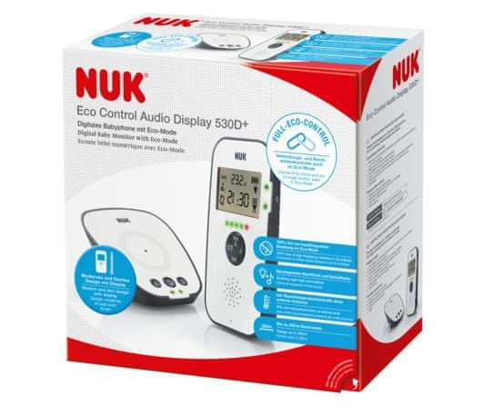 Nuk Niania ECO Control Audio Display 530D+