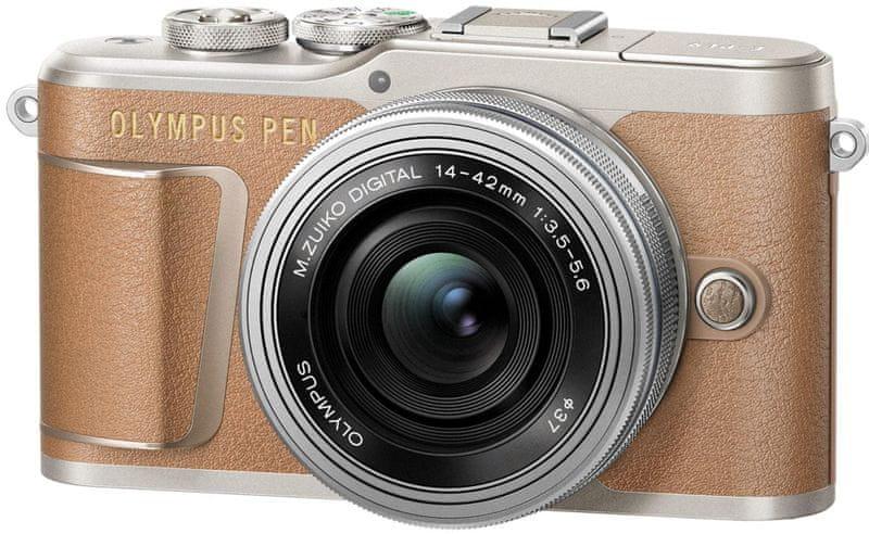 Olympus E-PL9 + 14-42 EZ Brown