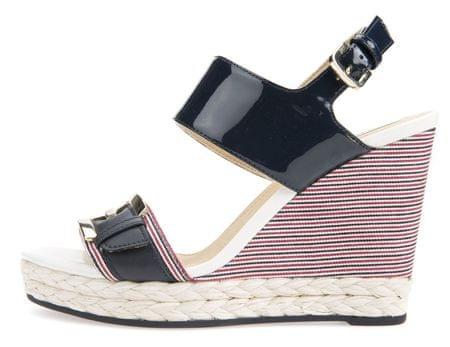 Geox dámské sandály Donna Janira 36 tmavo modrá