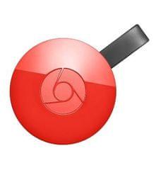 Google adapter Chromecast 2, rdeč
