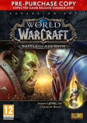 Activision Blizzard World of Warcraft: Battle of Azeroth (PC)  - uradni izid 14.08.2018