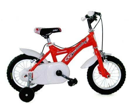 """Girardengo otroško kolo za dečke in deklice Unisex, 12"""", rdeče"""
