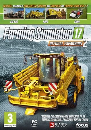 Focus Farming Simulator 17 Official Expansion 2 (PC)