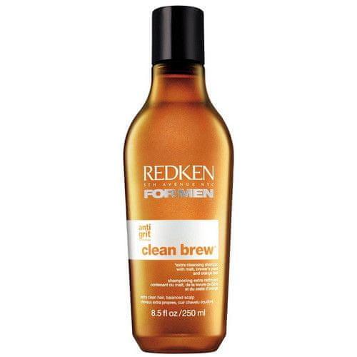 Redken Čistící šampon pro normální až mastné vlasy For Men (Clean Brew Shampoo) 250 ml