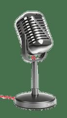 Trust Elvii Vintage Mikrofon (21670)