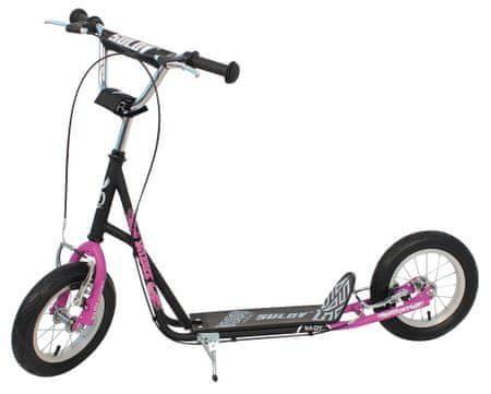 Sulov Roller 12 NIPER fekete/rózsaszín