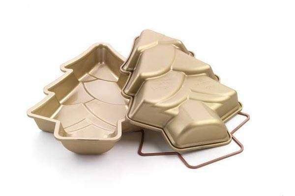 Silikomart Silikonová forma na dort – vánoční strom