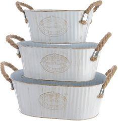 Kaemingk Set oválných kbelíků 3 ks