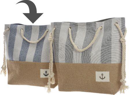 Kaemingk Plážová taška s lanovými uchy, modrá