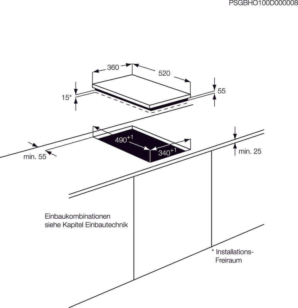 AEG indukční deska Mastery HC452401EB