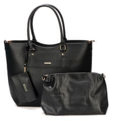 Bessie London ročna ženska torbica, črna
