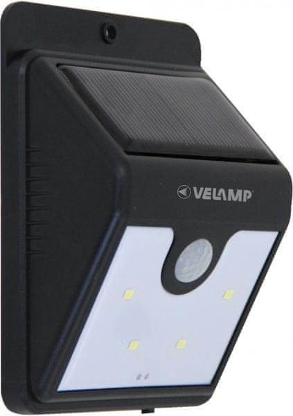Velamp DORY Solární nástěnné venkovní svítidlo s detektorem pohybu