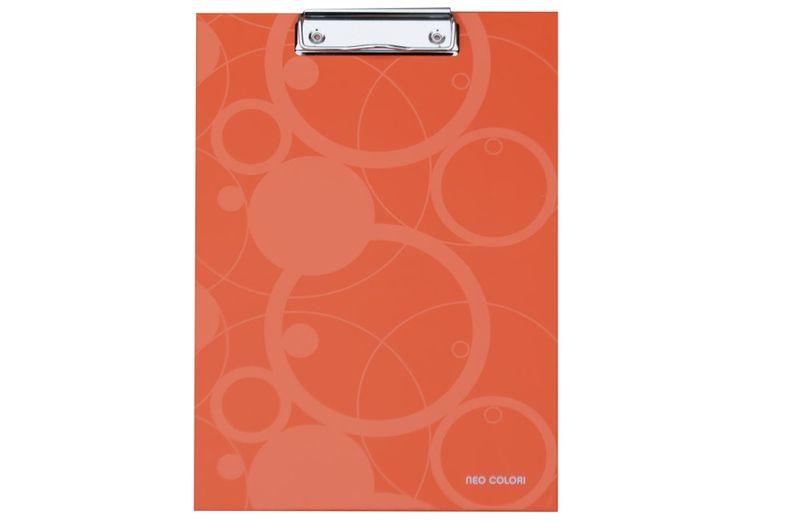 Karton P+P Podložka na psaní s klipem NEO COLORI oranžová