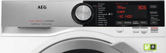 AEG práčka SoftWater L9FEC49SC + doživotná záruka na motor