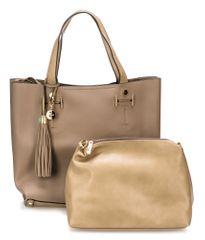 Bessie London ročna ženska torbica, rjava