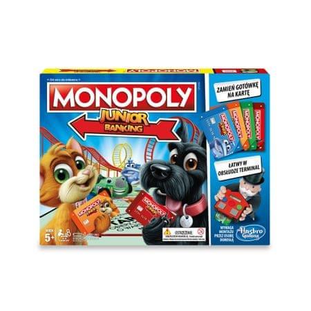 HASBRO Monopoly Junior Electronic Banking E1842