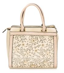 Bessie London ročna ženska torbica, bež