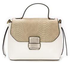 Bessie London ročna ženska torbica, bela