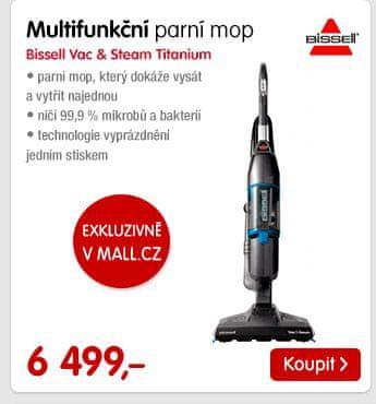 Multifunkční parní mop Bissell Vac & Steam