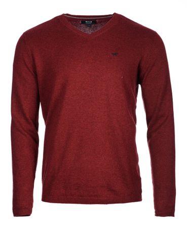 Mustang moški pulover XXL rdeča