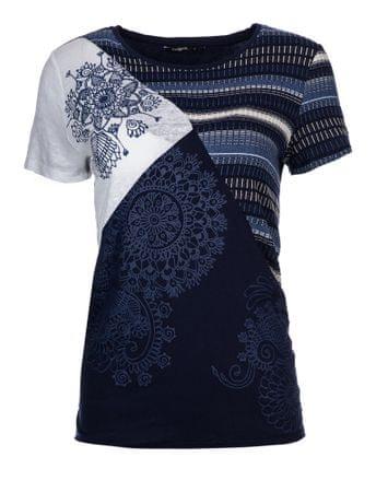 Desigual ženska majica S temno modra