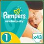 1 - Pampers Pieluchy New Baby 1 Newborn, 43 szt.