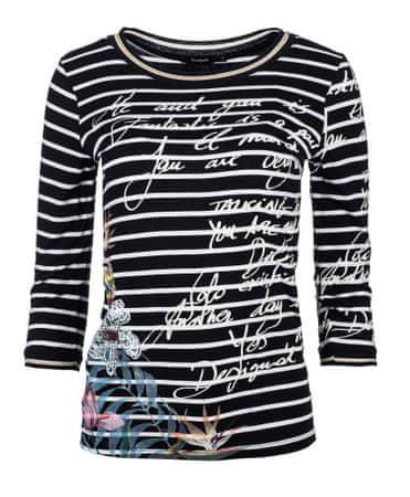 Desigual ženska majica XS črna