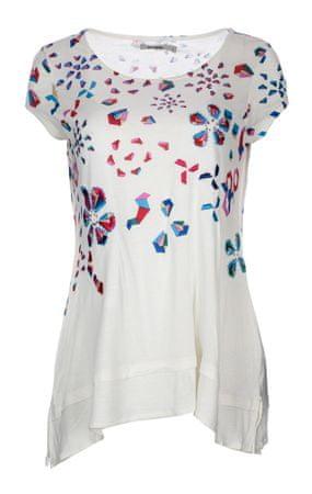 Desigual dámské tričko XS bílá  0cddcd76978