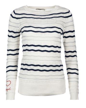 Desigual dámský svetr XL biela