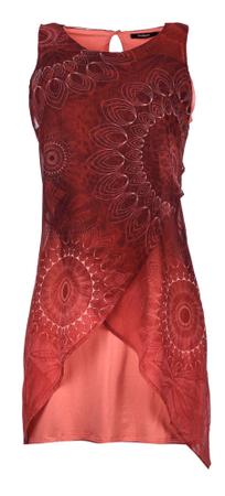 Desigual női ruha 40 piros