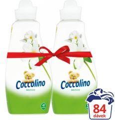 Coccolino Jasmine aviváž 2 x 1,5 l (84 praní)